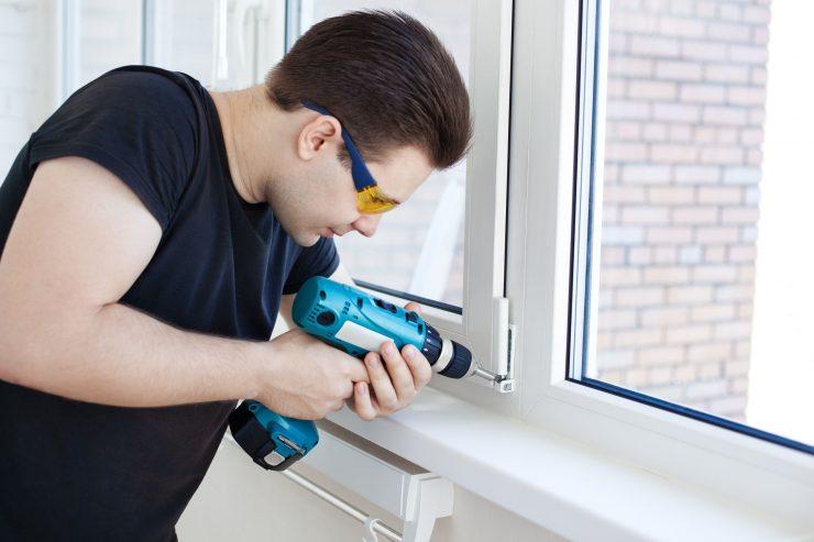 Как правильно установить окно