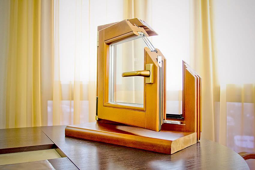 Деревянные окна заказать в MildenOKNA