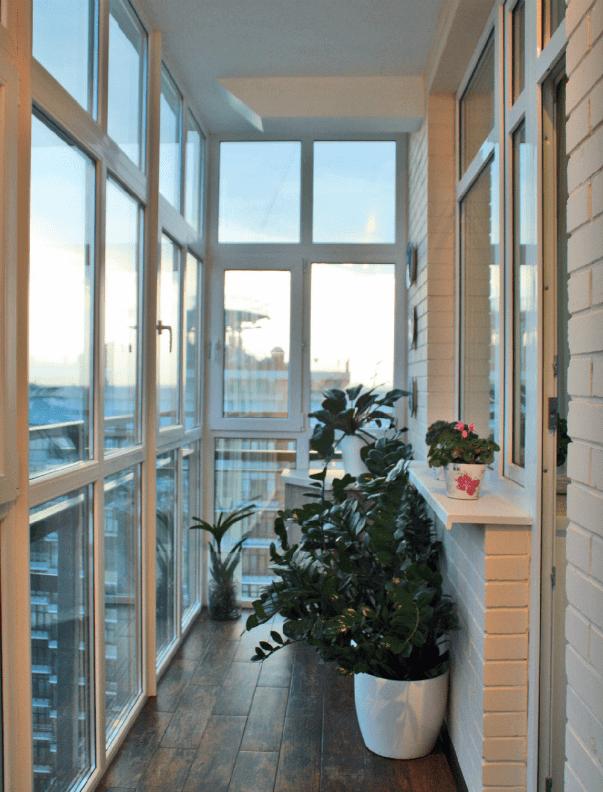 Остекление балконов заказать в MildenOKNA