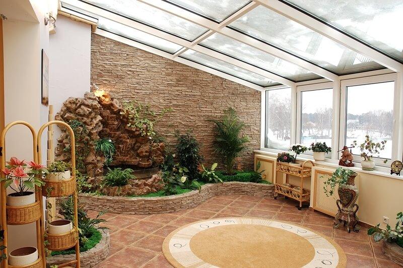 Зимний сад заказать в MildenOKNA